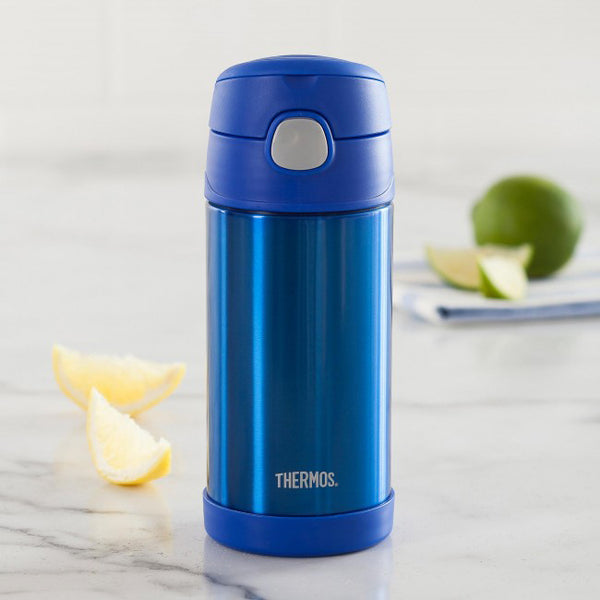 thermos 355ml insulated bottle blue - Chalk