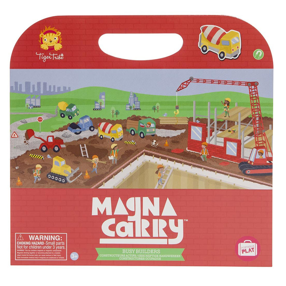 tiger tribe magna carry busy builders - Chalk
