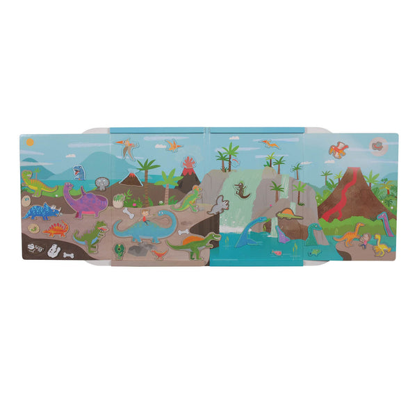 tiger tribe magna carry dino world - Chalk