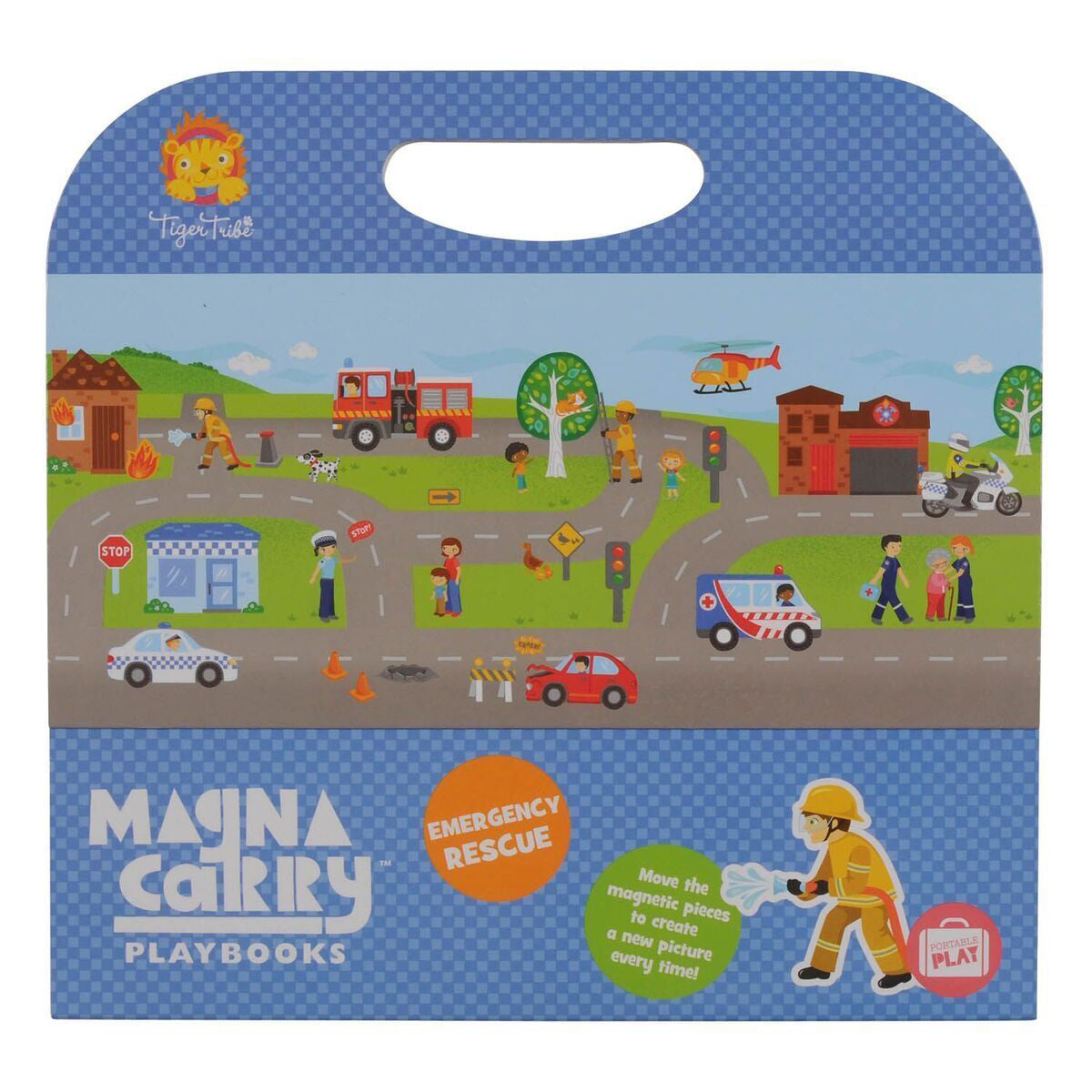 tiger tribe magna carry emergency rescue - Chalk