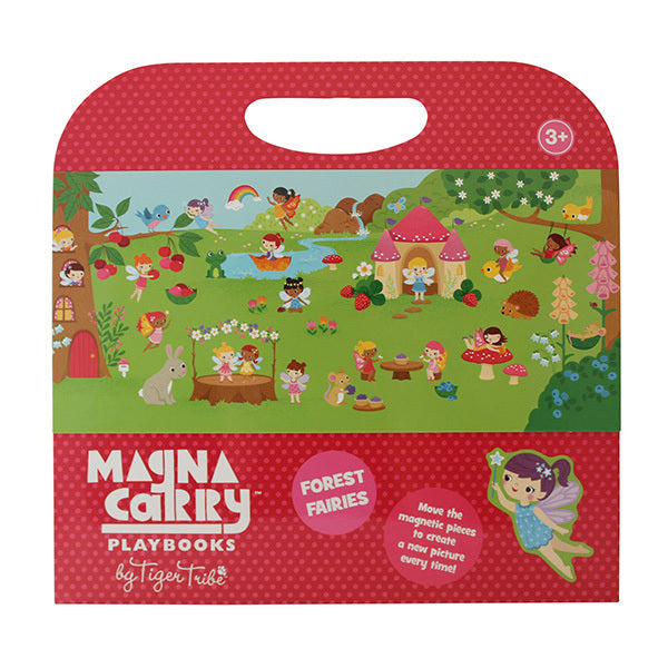tiger tribe magna carry forest fairies - Chalk