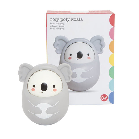 tiger tribe roly poly koala - Chalk
