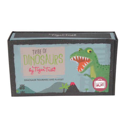 tiger tribe tribe of dinosaurs - Chalk