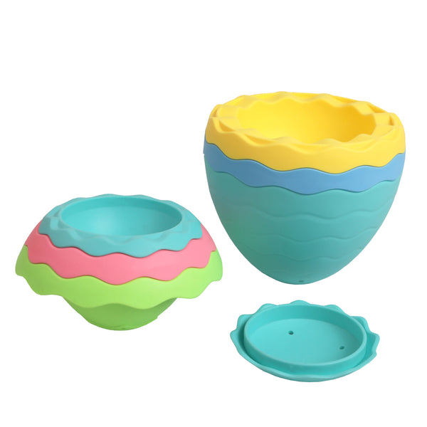Tiger Tribe Stack And Pour Bath Egg