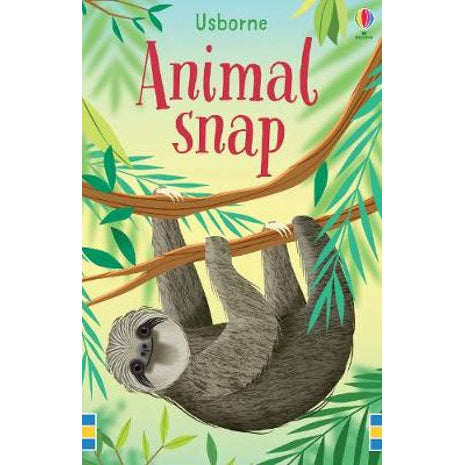 usborne cards animal snap - Chalk
