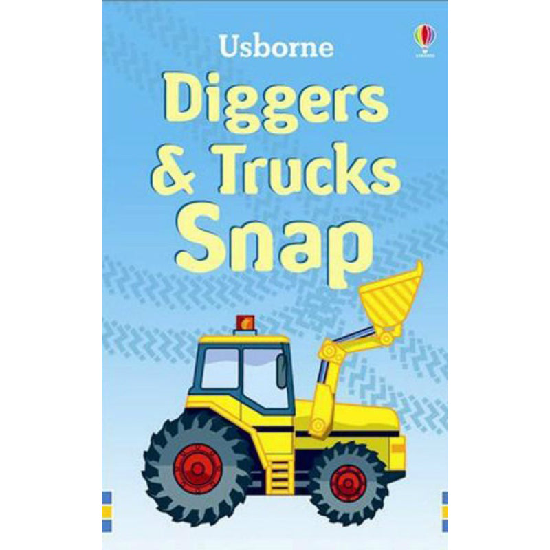 Usborne Cards Diggers & Trucks Snap