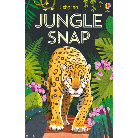 usborne cards jungle snap - Chalk