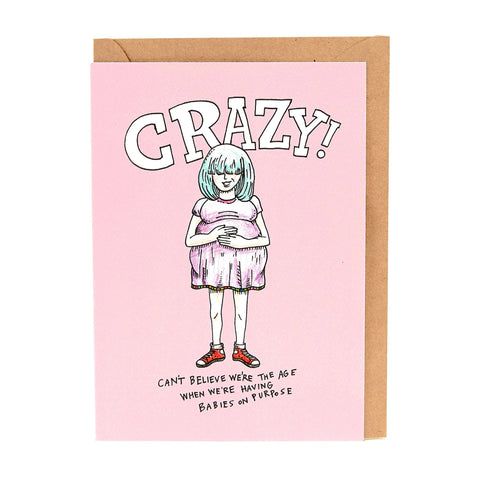 wally card on purpose - Chalk