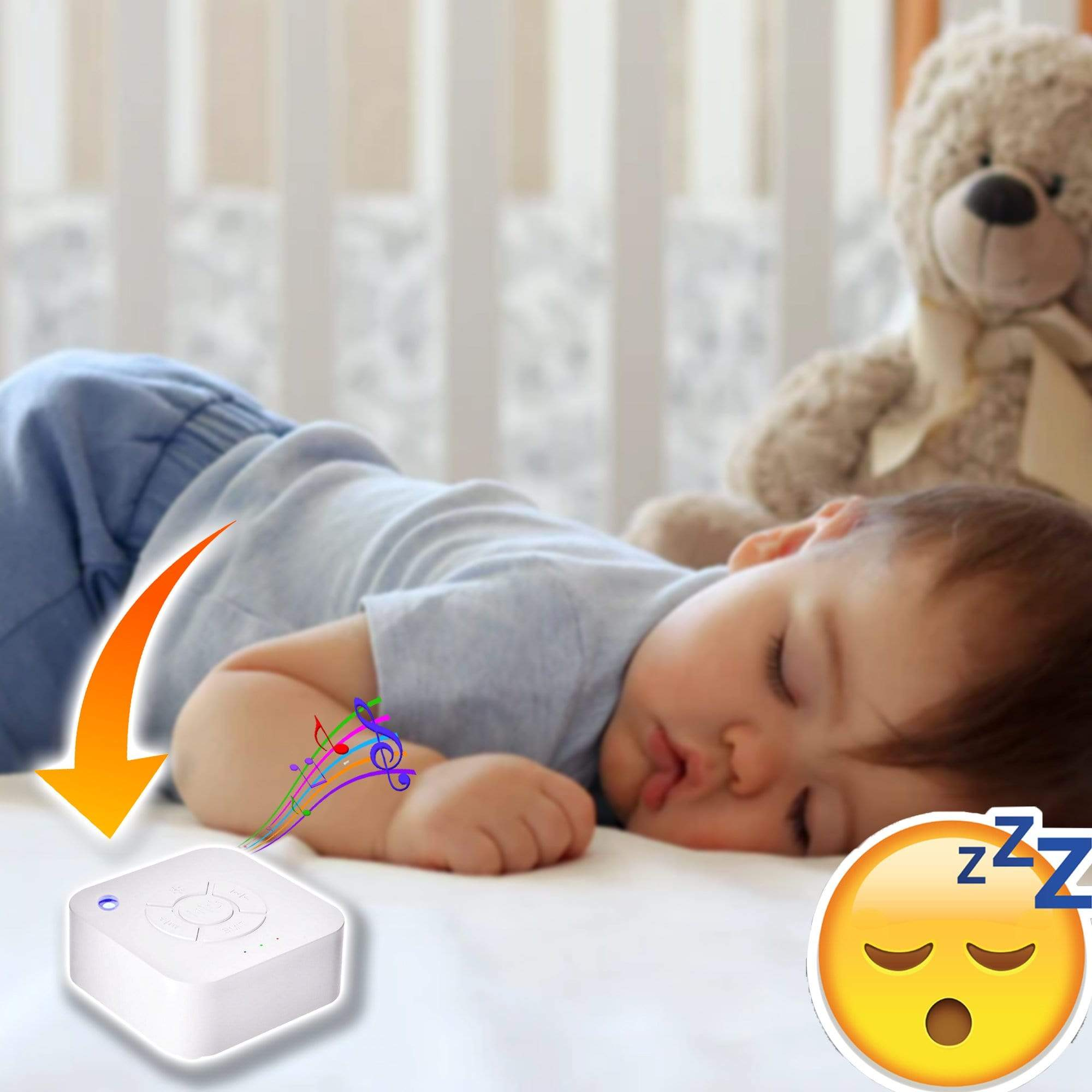 WhiteNoise™ Machine for Sleeping - Baby Belts