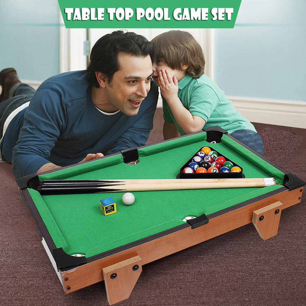 Mini Pool Table - Baby Belts
