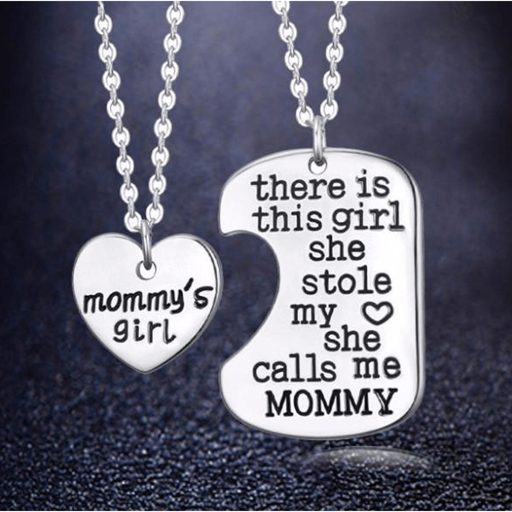 Mommy's Girl Charm Pendant - Baby Belts