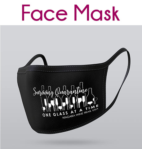 Facial Mask - One Glass at a Time