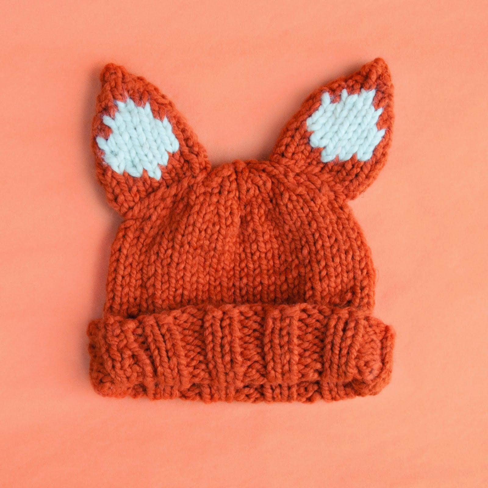 Fox Hat - Free Knitting Pattern