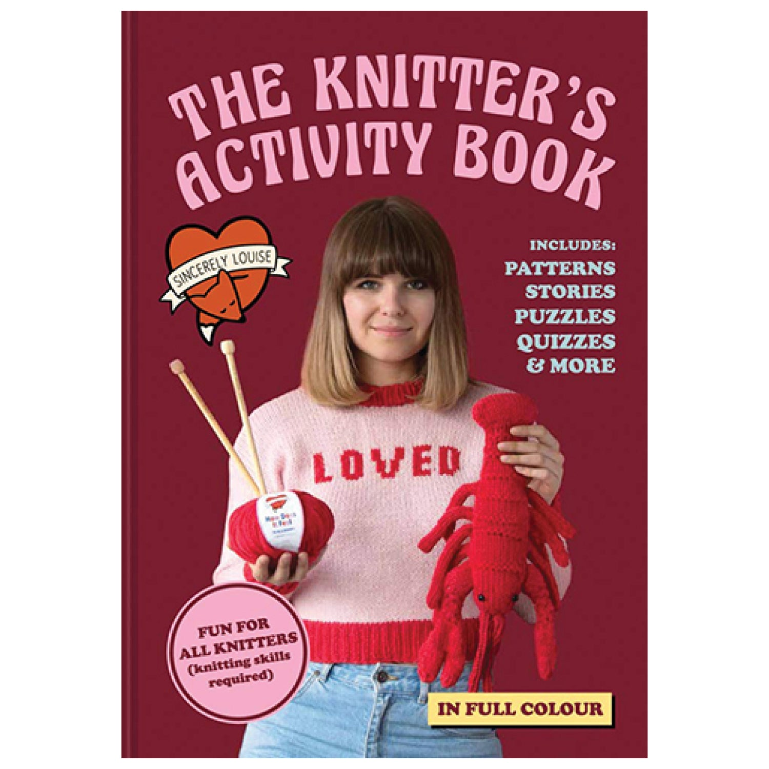 The Knitter's Activity Book - Signed Copy