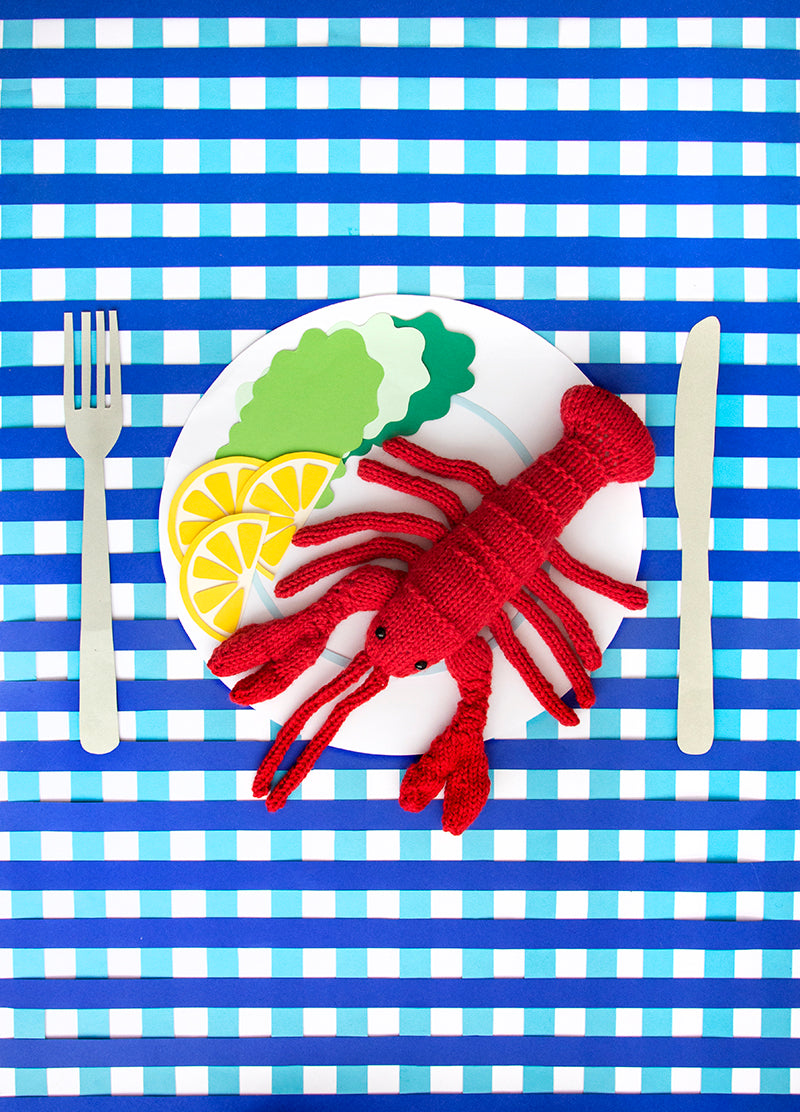 Lobster Knitting Kit (5848090902685)