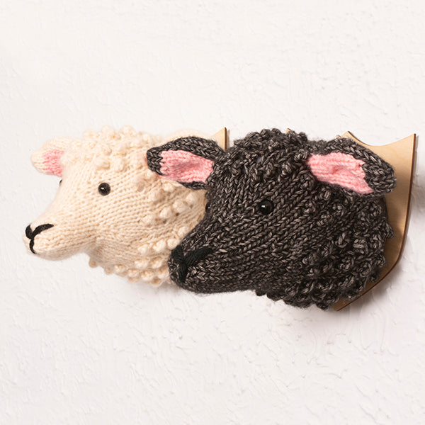 Mini Sheep Head Knitting Kit