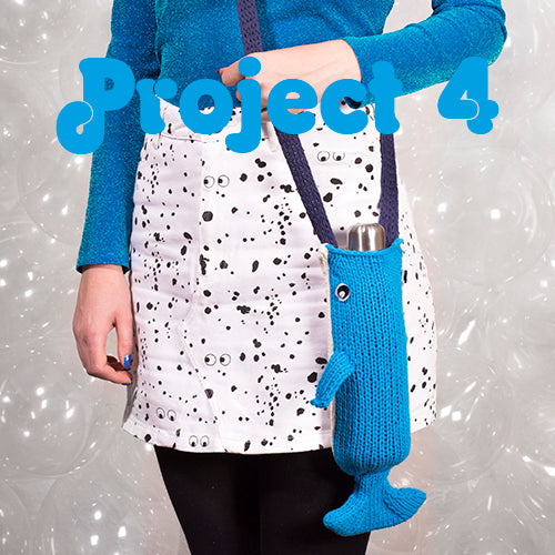 Project 4 Whale Bottle Carrier Kit - First Time Knits