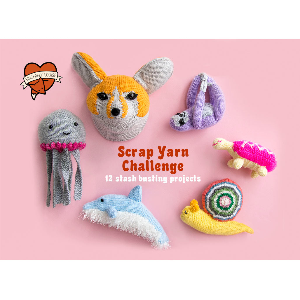 Scrap Yarn Challenge Pattern Booklet