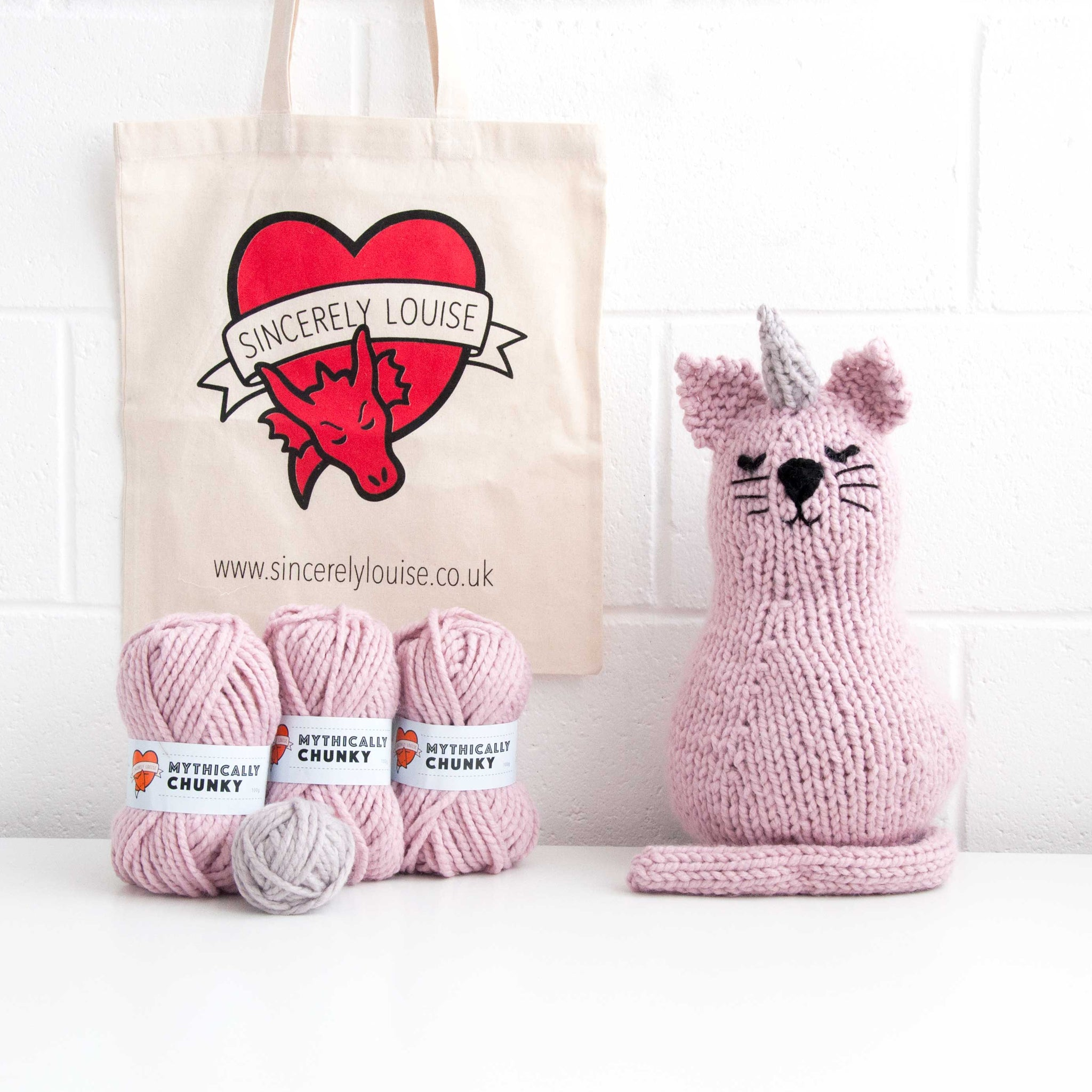 Unicorn Cat Knitting Kit