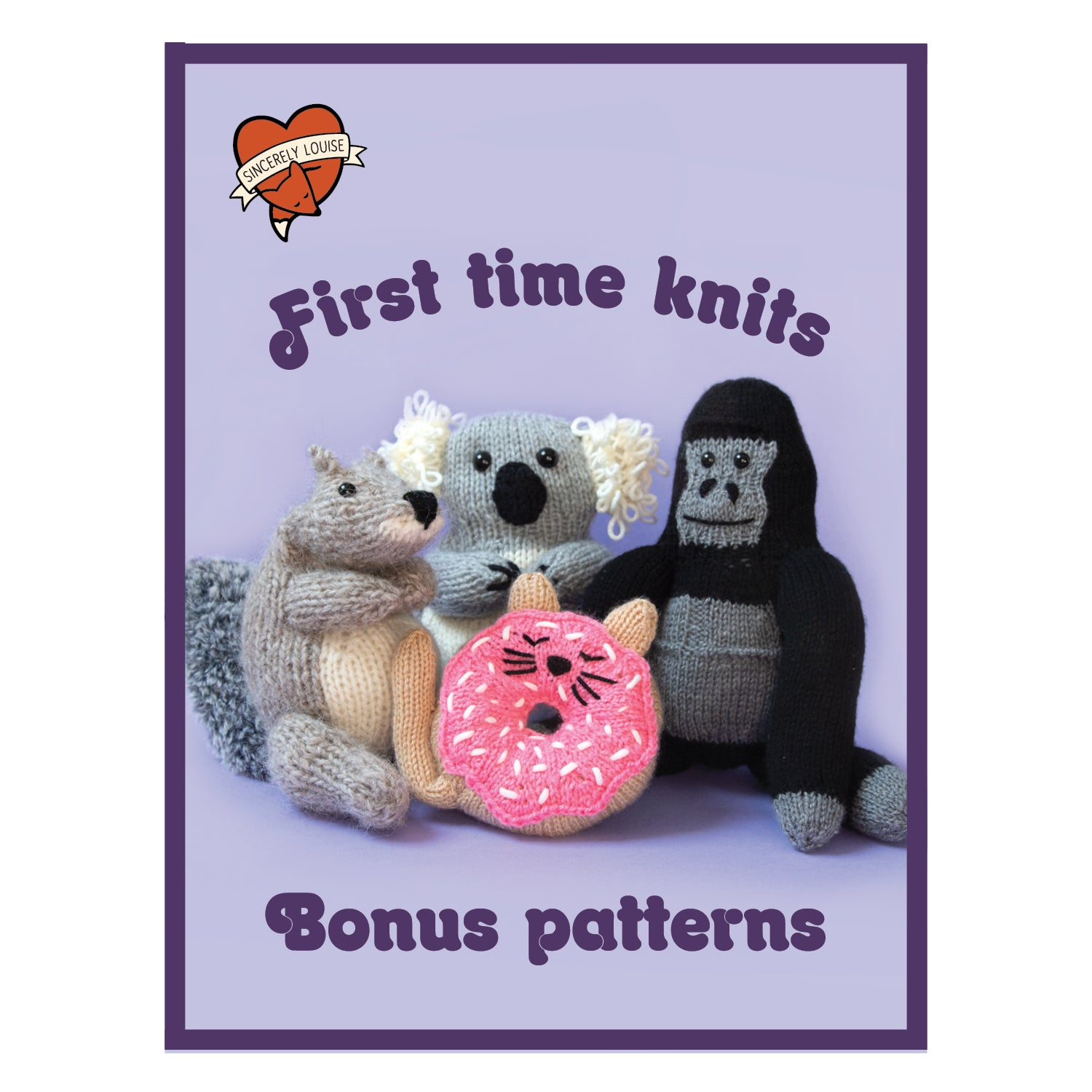 First Time Knits Book - Signed Copy (4917664776324)