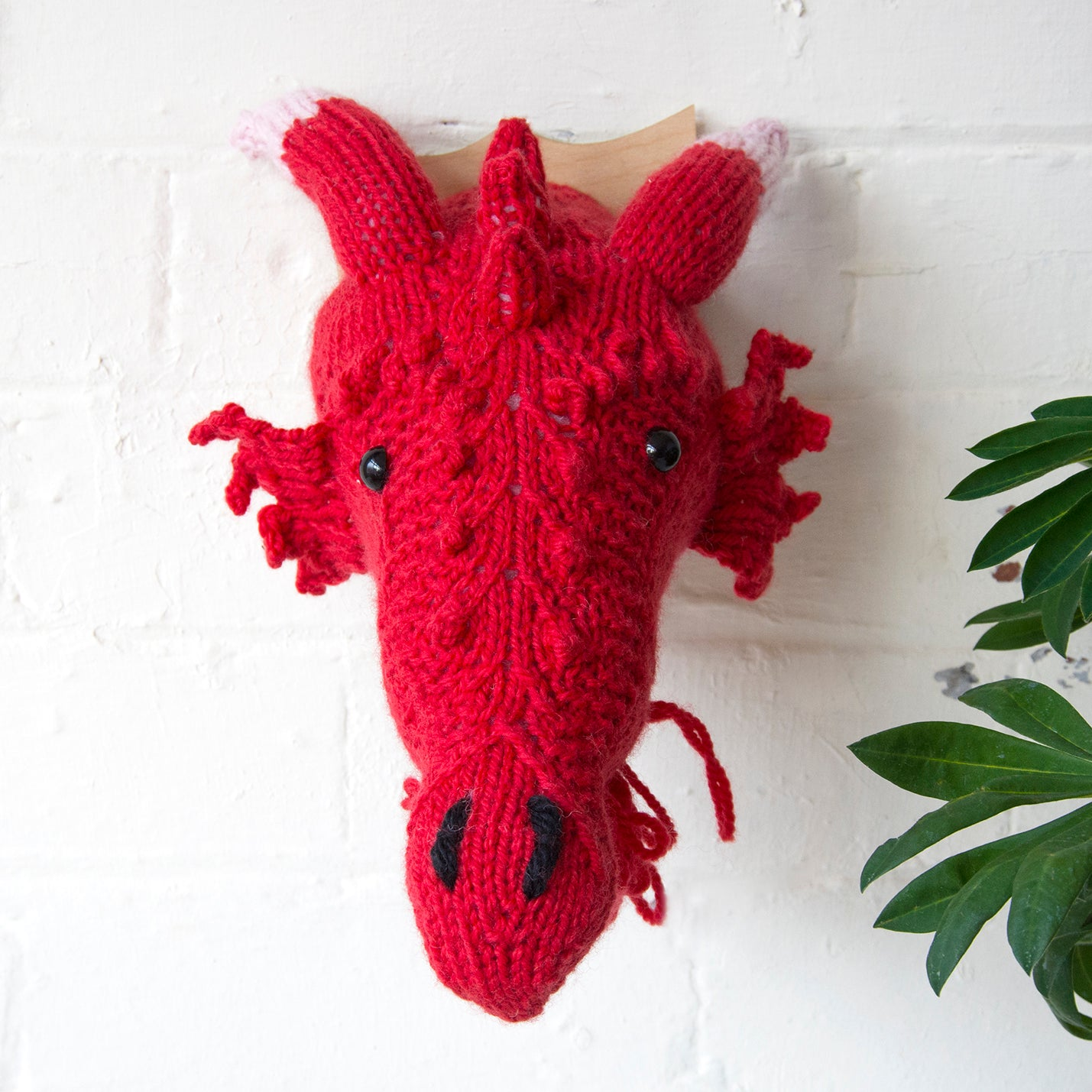 Mini Dragon Head Knitting Kit