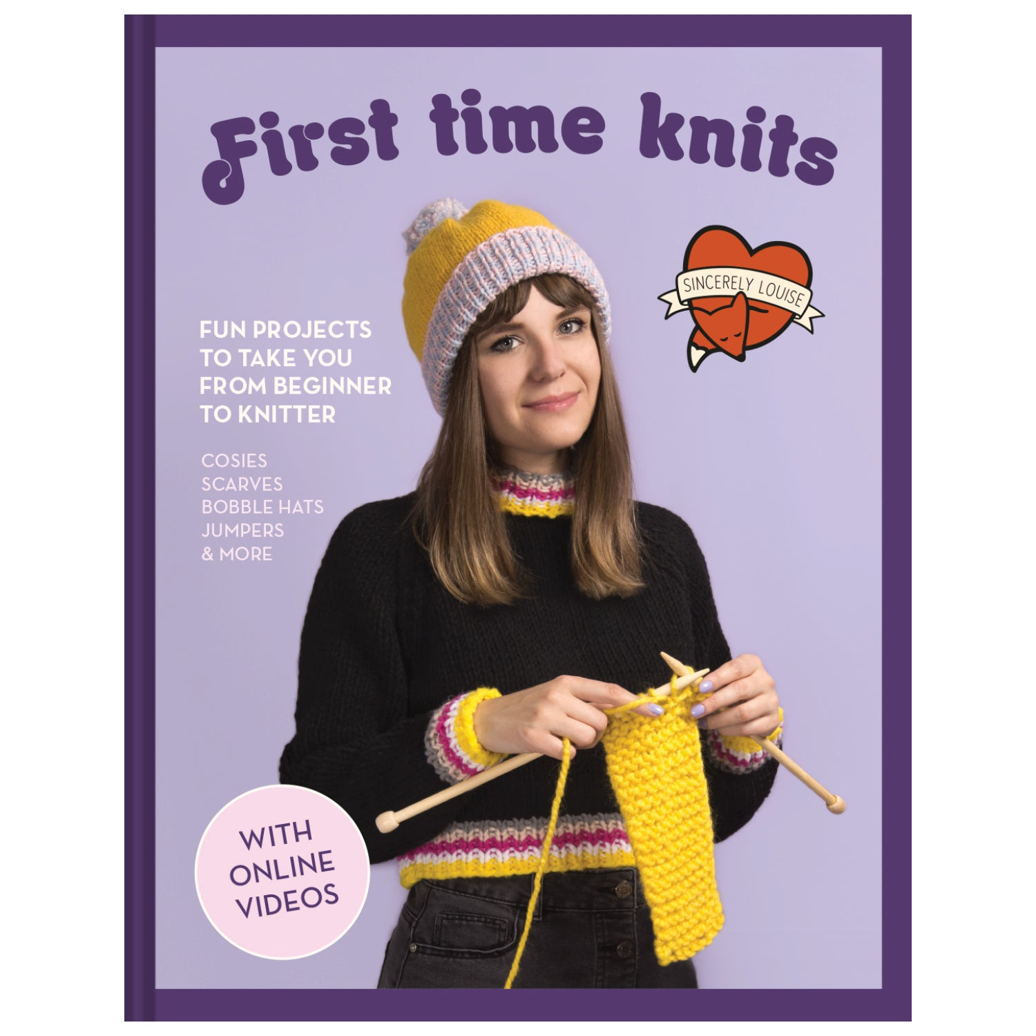 First Time Knits Book - Signed Copy