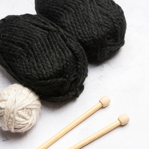 Giant Sheep Head Knitting Kit