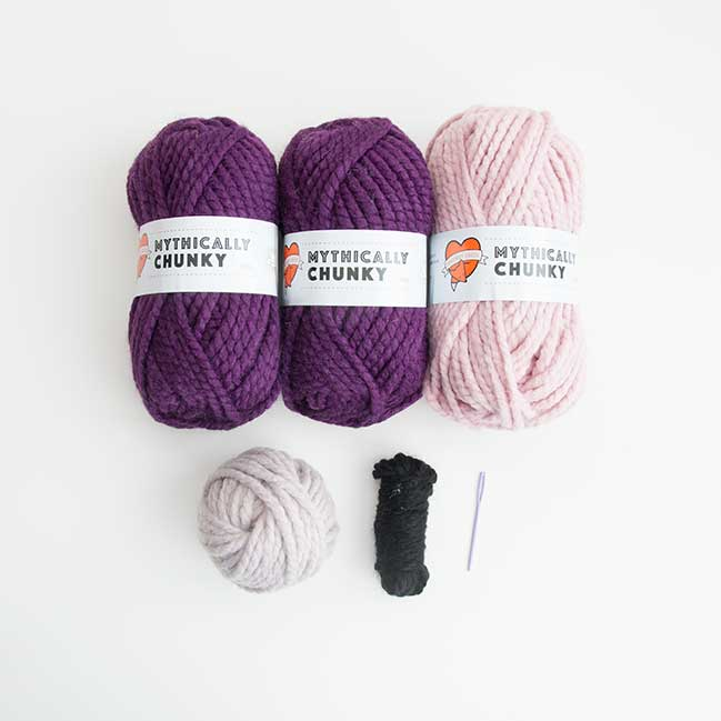 Pur-maid Knitting Kit