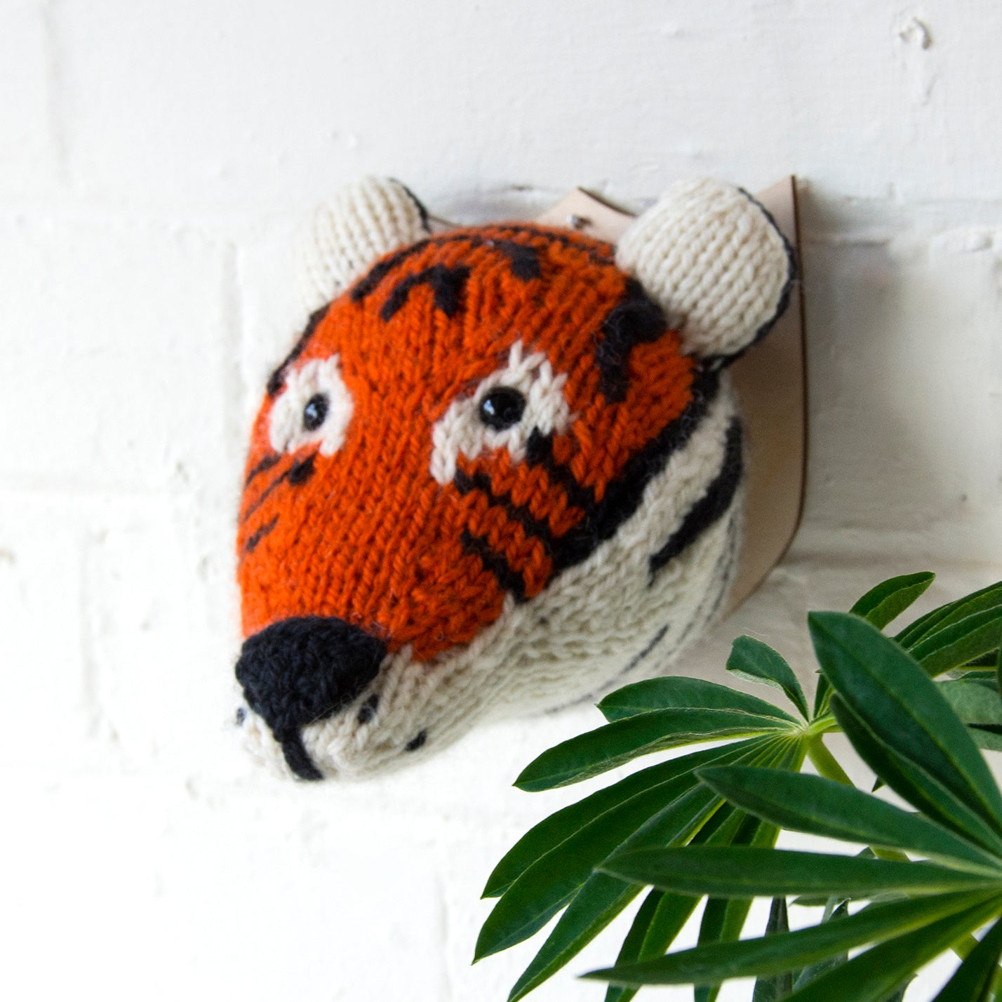 Mini Tiger Head Knitting Kit (4579100754052)
