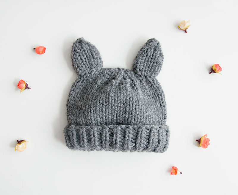 Cat Hat Knitting Kit (4640647741572)