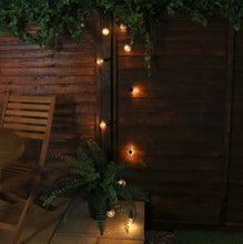 Load image into Gallery viewer, Outdoor Battery Festoon Lights, 10 Warm White LEDs, Clear Bulbs, 4.5m 1.jpg