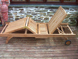 Richmond Teak Sun-Lounger
