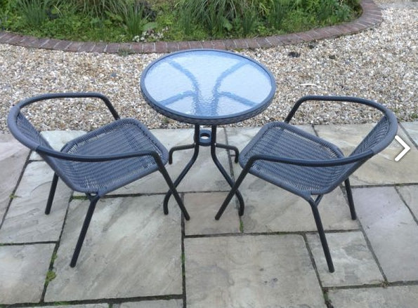 Round Bistro Set - Two Seater - Garden