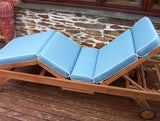 Luxury Sun-Lounger Cushion