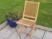 Devon Folding Teak Garden Chair