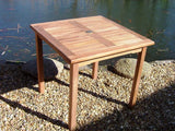 Square 80cm Teak Garden Table