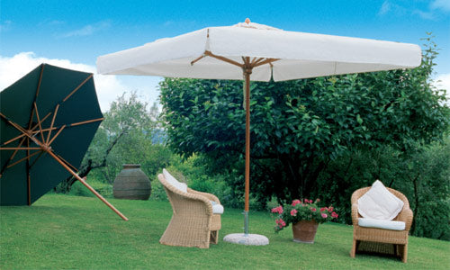 Commercial 4x4m Telescopic Parasol
