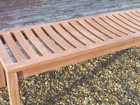 Teak Backless Bench