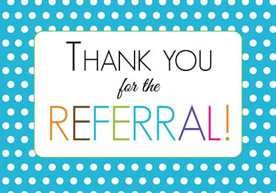 52563 Thank You for the Referral