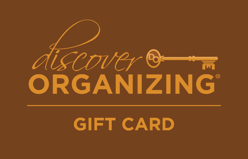 Discover Organizing - Organizing Gift Card