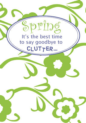 E15 Say Goodbye to Clutter this Spring