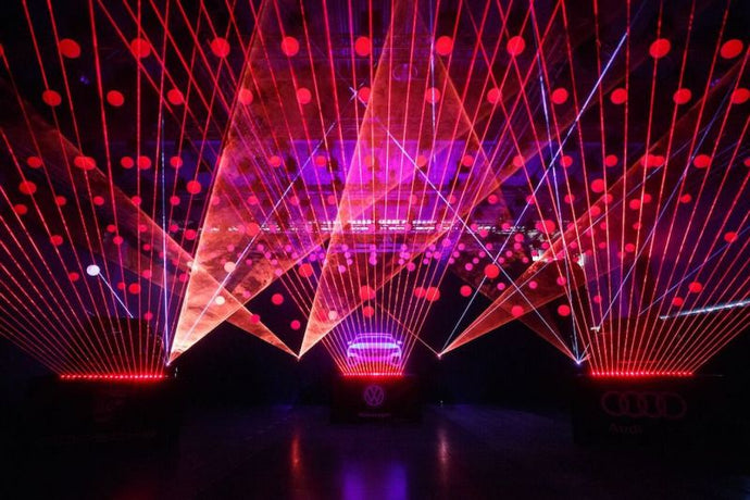 How to: Successful corporate laser display shows
