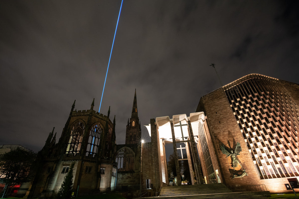 Architect Sky Laser Show in the UK_1