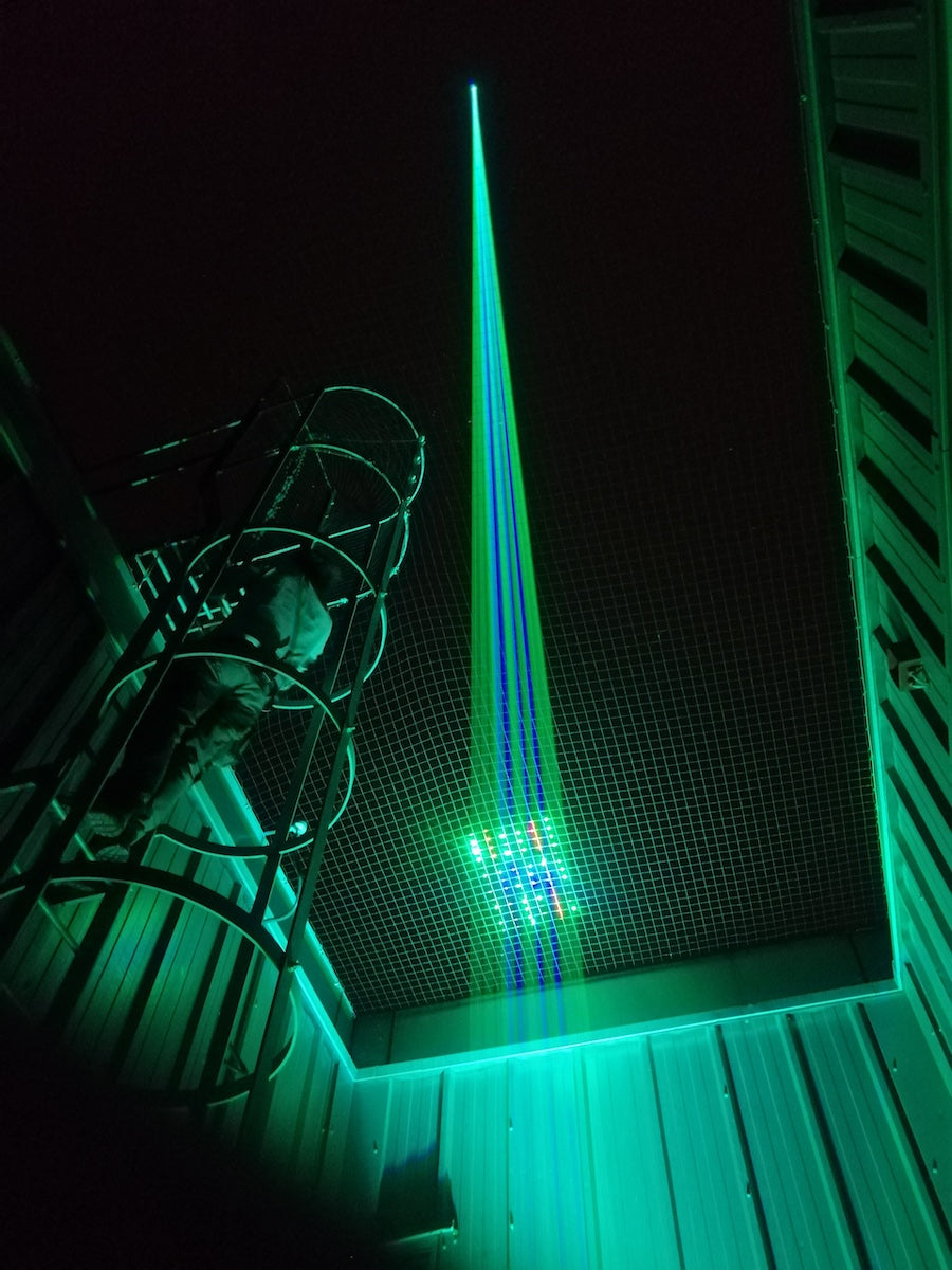 Architect Sky Laser Show in the UK_2
