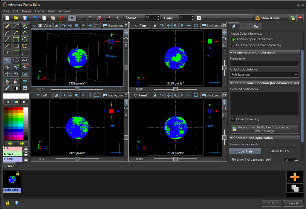 Advanced Drawing Program and Frame Editor in Beyond 5.0
