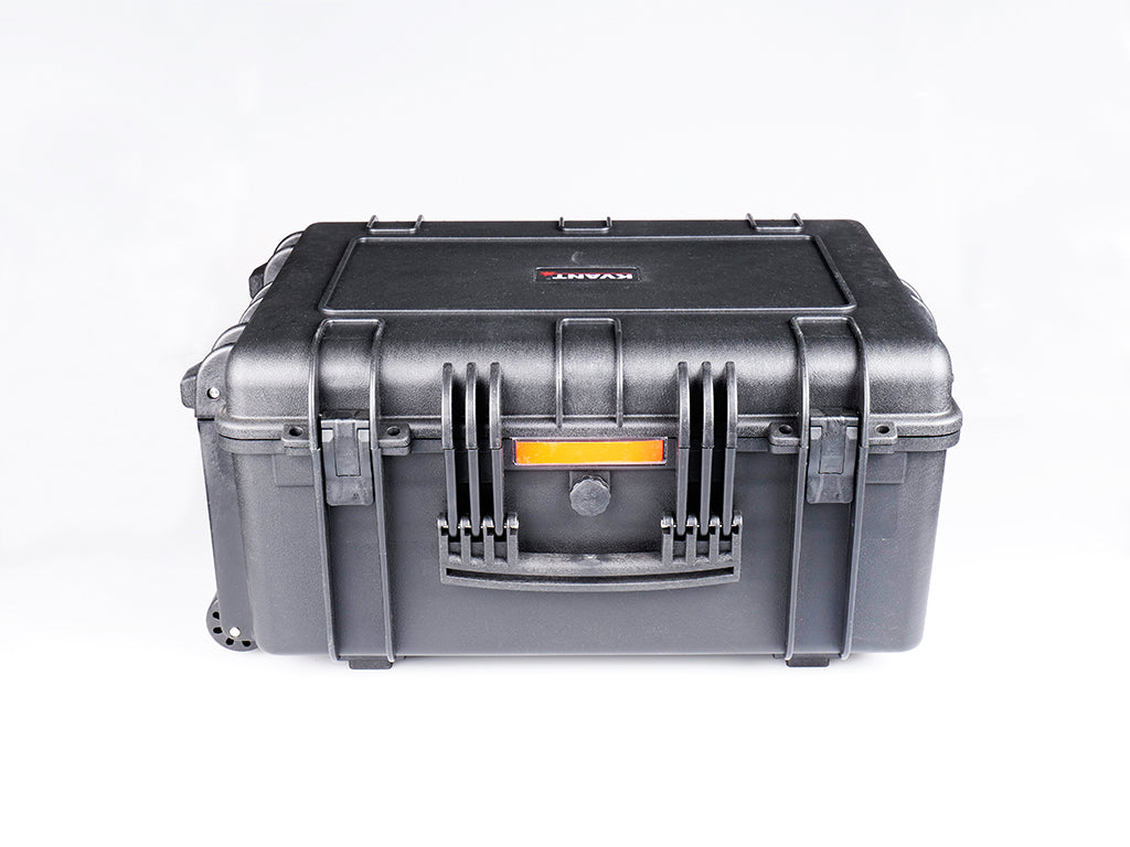 Heavy duty flight case front view