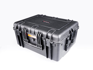 Heavy duty flight case side view