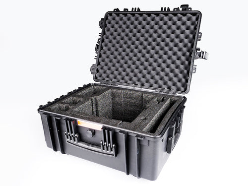 Heavy-duty flight case | size M opened