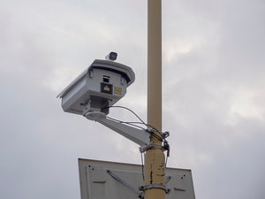 LogoLas 2000 mounted on the lighting post