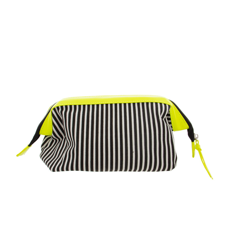 Neon Trimmed Makeup Bag